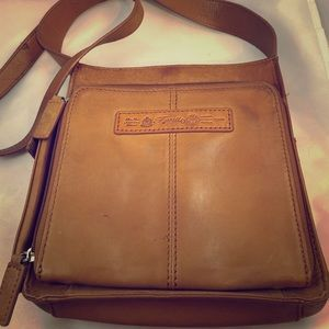 Fossil 1954 Classic Brown Leather Bag
